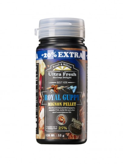 AZOO PLUS ULTRA FRESH Premium Royal Guppy 120 ml / 53g